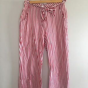 Urban Outfitters 4th of July Striped Wide Leg Pant